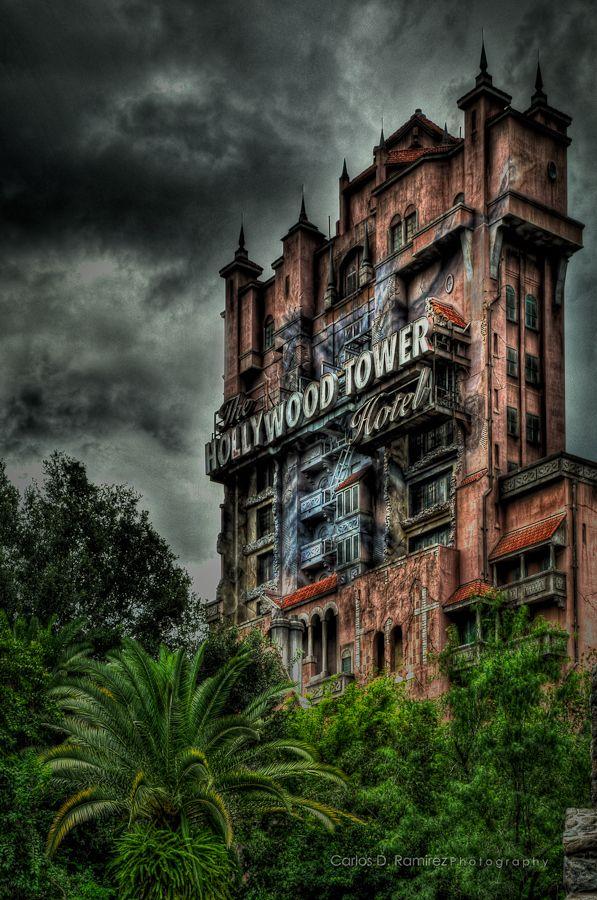 The Twilight Zone Tower of Terror, Hollywood Studios. Disney Florida.