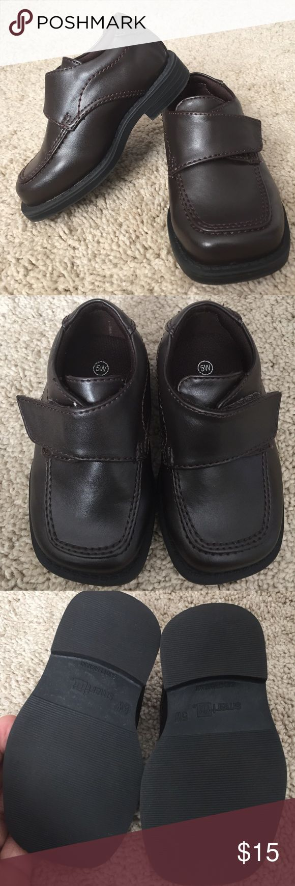 Toddler dress shoes (boy) Excellent condition!! Size 5W. Retails for $19.99 at Payless. Dark brown. Shoes Dress Shoes