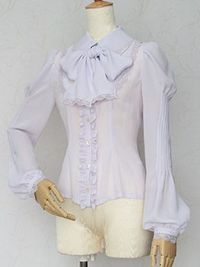 #VictorianMaiden Noble Lace Intuck Blouse