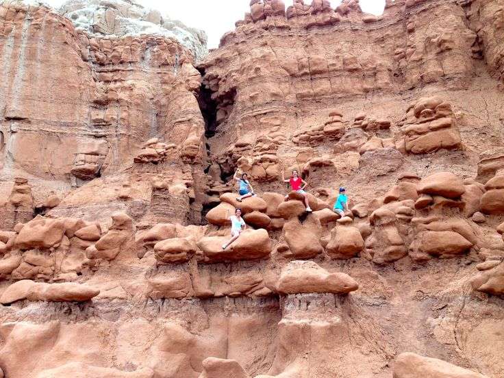 Not too far from Salina, Utah is Goblin Valley. You can
