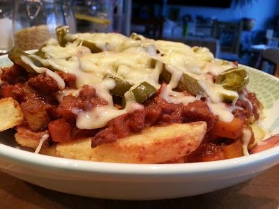 Slimming World Delights: Chilli Cheese Fries syn free if cheese healthy A