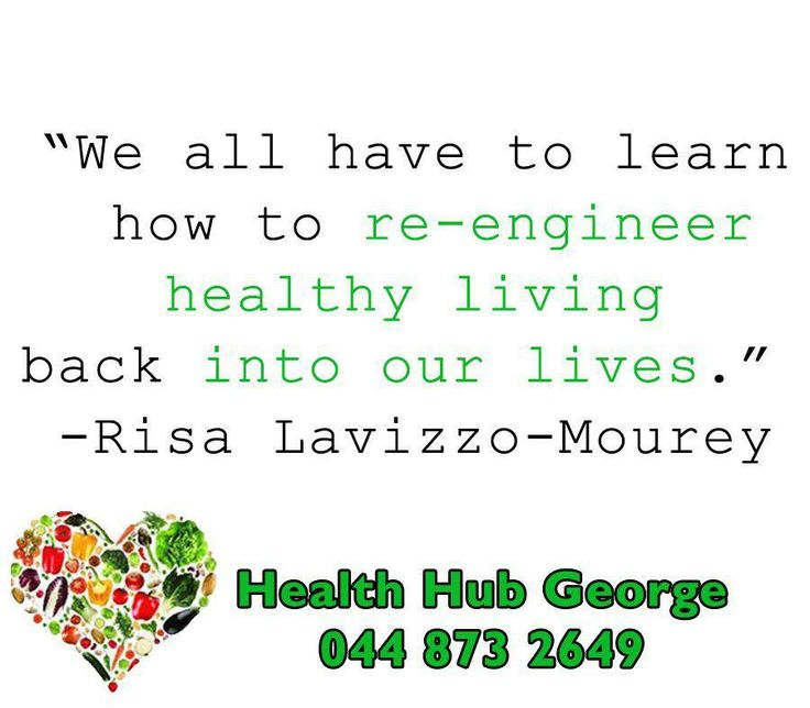 """We all have to learn how to re-engineer healthy living back into our lives."" -Risa Lavizzo-Mourey #SundayMotivational #HealthHub"