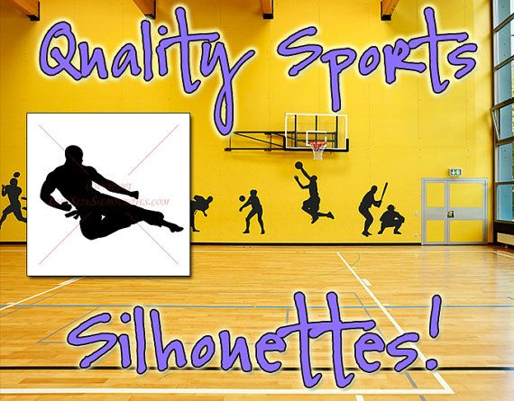 KARATE KICK Silhouette Decal 3 High QUALITY by CustomSilhouettes