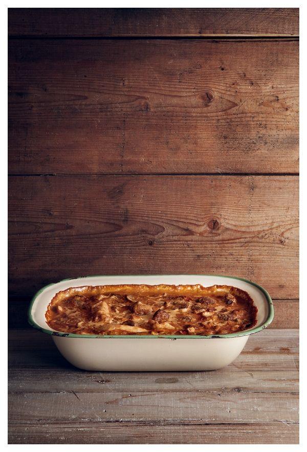 Bara en kaka till...: Agnetas och Annas kycklinggryta med ädelost
