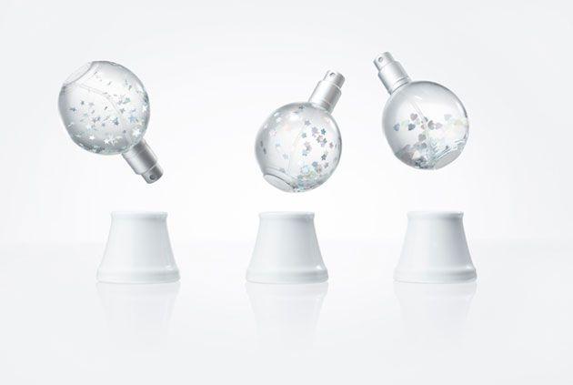 スノードームとしても楽しめるルームフレグランス「snow dome」