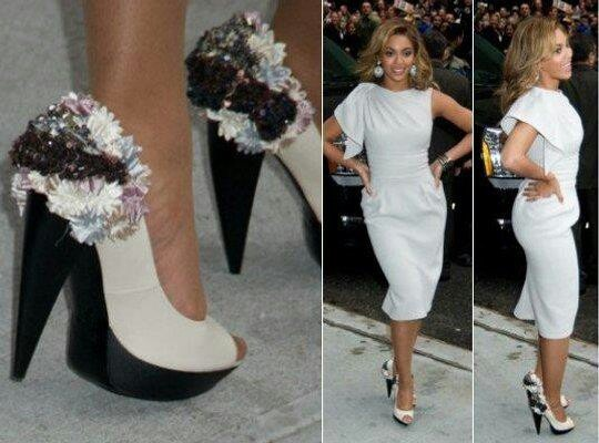 Bey lovin the shoes