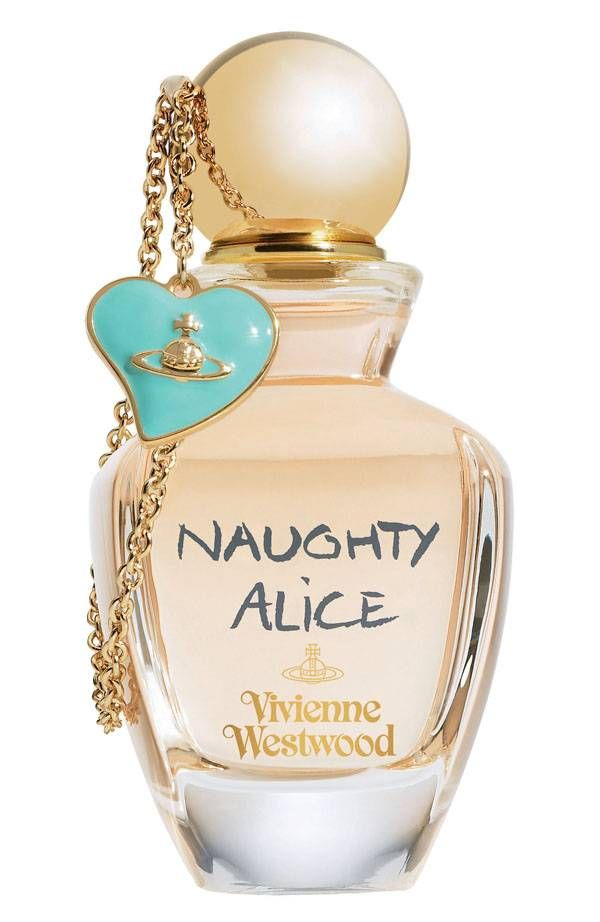 Naughty Alice by Vivienne Westwood:  Note of the composition include black rose, violet, ylang-ylang and musk.