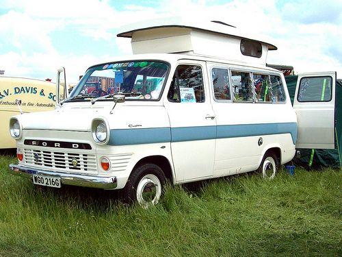 110 Ford Transit Custom Mk1 Camper 1968