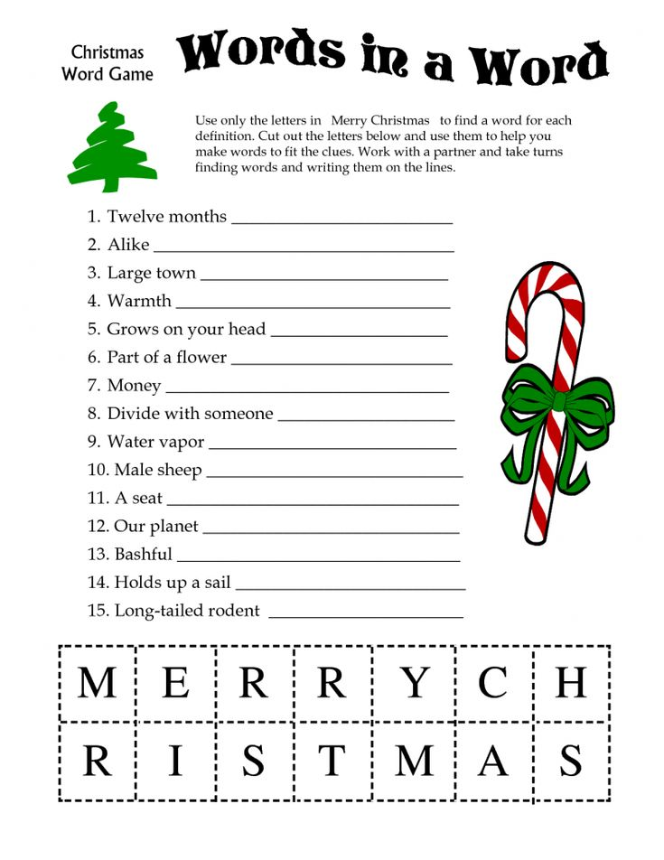 1000 images about Christmas Games – Sample Christmas Game