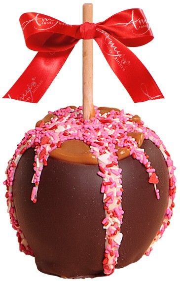 40 best Sweetheart & Valentine\'s Caramel Apple Gifts images on ...