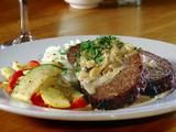 rish Meatloaf with Cabbage Cream Sauce - Just saw this on Triple D and was lucky to find the recipe on FN. Obviously it makes a lot but the idea of the cabbage cream sauce is what really attracts me. I'll have to give it a try.