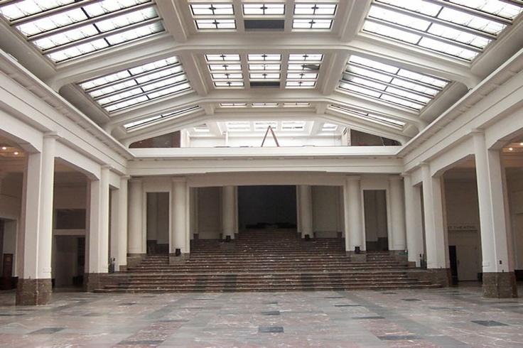 Horta Hall Bozar Palais Des Beaux Arts Brussels