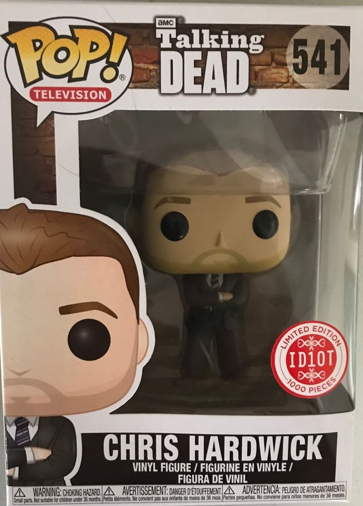 POP - Chris Hardwick Talking Dead #541 - RARE. You will be buying one of the limited edition RARE Chris Hardwick Funko Pop! Only 1000 were made and they are very hard to find! Don't pass up this opportunity to get a Rare limited edition Funko Pop Vinyl!   eBay!