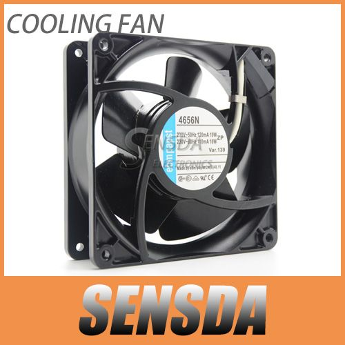 Cheap fan free shipping, Buy Quality fans edge free shipping directly from China ceiling fans free shipping Suppliers:       Brand: Germany ebmpapst    Model: 4656N    Size: 119 * 119 * 38MM (iron leaf temperature)    Vol
