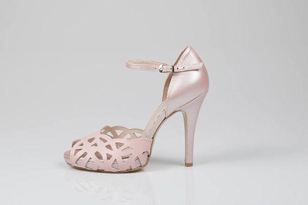 Ροζ νυφικα παπουτσια - Love4Weddings