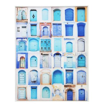 Moroccan Door Collage Classic Canvas by Stoneleigh & Roberson. Get it now or find more Shop All Wall Art at Temple & Webster.