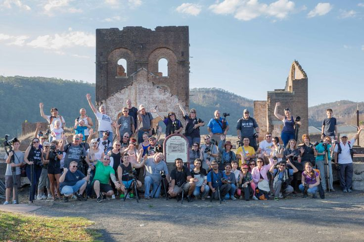 The first photowalk for 2014 was at the Lithgow Blast Furnace and it made for a great afternoon! http://photographyhotspots.com.au/lithgow-blast-furnace-photowalk-review/ #photowalk #bluemountains