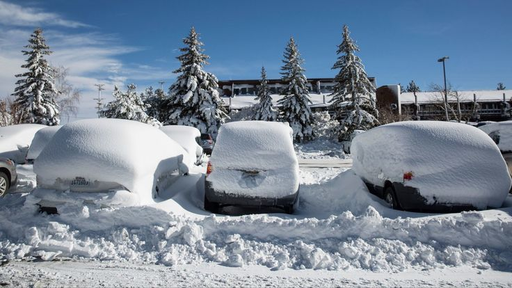 01/24/2017 - California's stormy winter sets snowfall record for Mammoth resorts — over 20 feet in one month