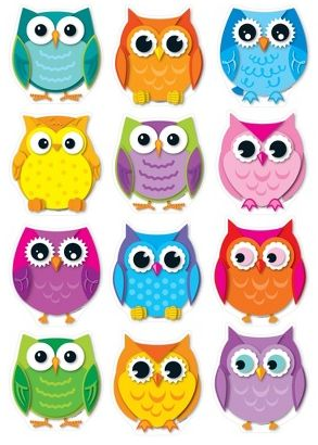 owl themed table layout - Google Search