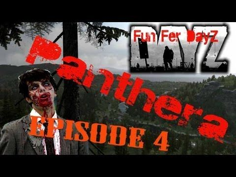 ArmA 2 - DayZ Mod - Panthera - Episode 4 - Fun Fer DayZ - Ejecting From an Osprey is AWESOME!