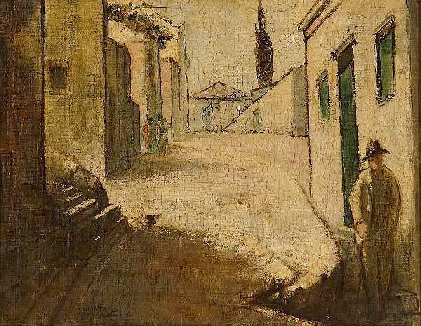 Le Petit Monsieur Cocosse: Θεόφραστος Τριανταφυλλίδης / Ο Παπαδιαμάντης της ζωγραφικής