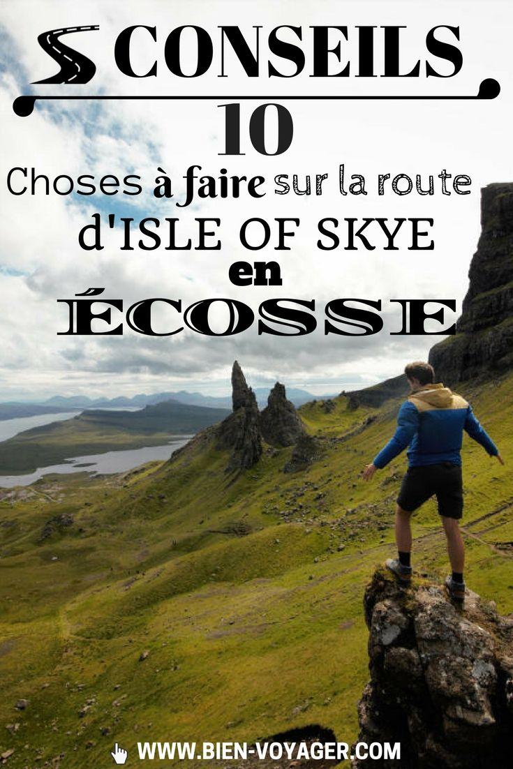 Article conseil sur les incontournables en Ecosse : Isle of Skye Passent les années de turbulence et le temps qui s'égare. Édimbourg je te retrouve comme au temps de mon premier voyage aérien, de ma première aventure d'une série qui jamais ne finit. Celle où j'avançais les poches vides et trouées, Tom Sawyer du 21ème …