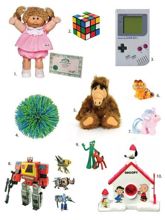 Total Toy Flashback: Can you name them all? If you can without
