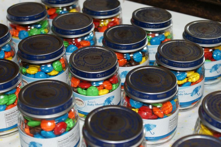 Baby Food Jar Favors
