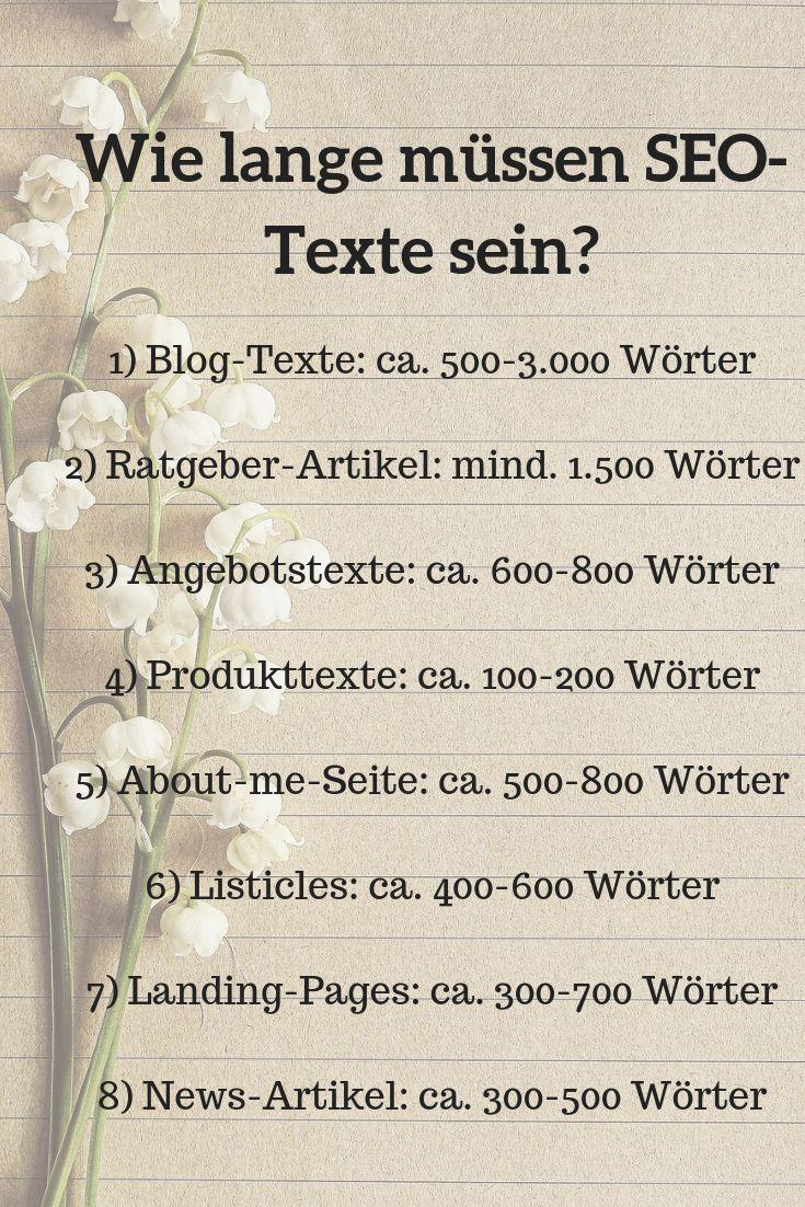 SEO-Textlänge: Warum du keine 1.500-Wörter-Texte brauchst