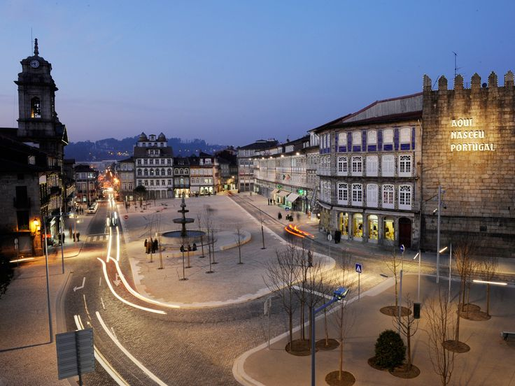 Guimaraes: Aqui nasceu Portugal (Portugal was born here!). Lovely city. Can't wait to get back. Only spent one day here, but it deserves so much more than that.