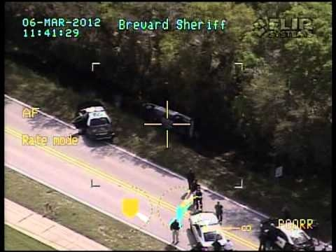 Car chase after BCSO deputy shot and killed.