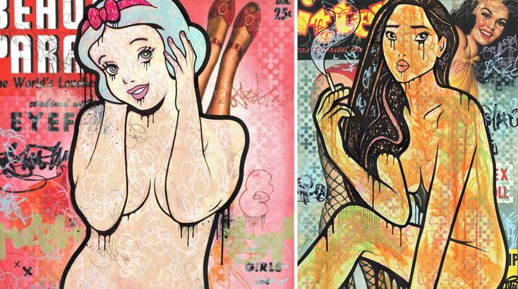 These Sexy Disney Princesses Make Me Feel Weird (NSFW). Dirtyland is an art series by Dillon Boy that depicts Disney princess in a way that… involves less clothing that we're used to.