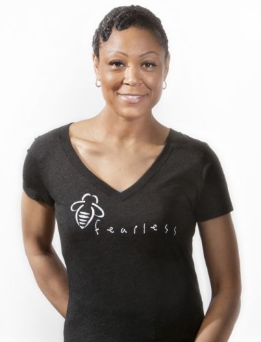 LolaViola - Shirt: Fearless - black, $30.00 (http://lolaviola.co/shirt-fearless-black/)