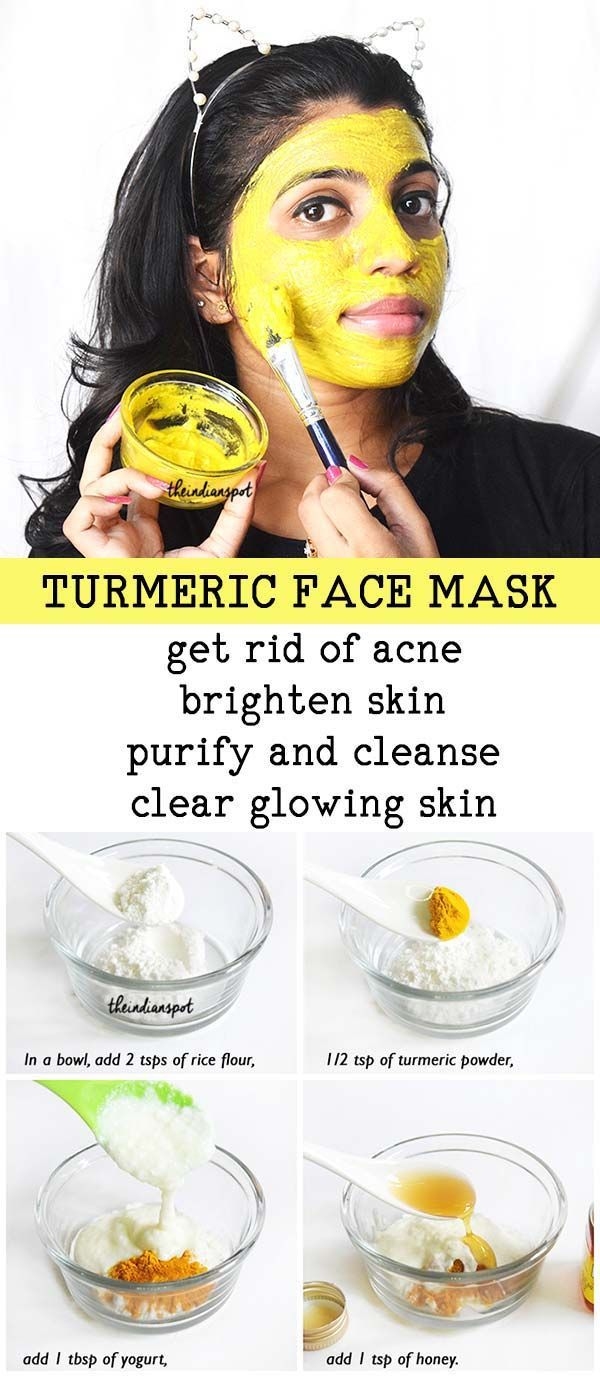 Turmeric's is one of the best pantry ingredients for clear skin and can be used for any skin type. It is rich in anti oxidants that help to deep clean pores,… #HomemadeFaceScrub