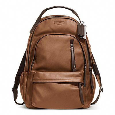 THOMPSON BACKPACK IN LEATHER