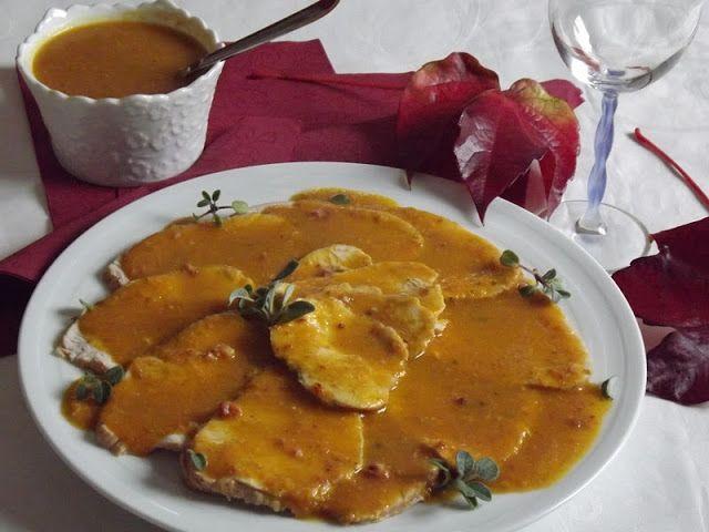 La buona cucina di Katty: Arrosto di tacchino in salsa (con la pentola a pressione)