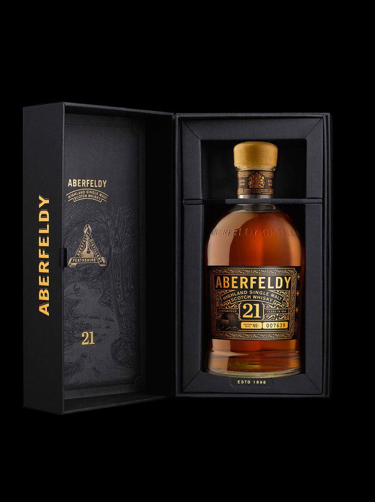 Aberfeldy Single Malt Scotch Whisky — The Dieline - Branding & Packaging