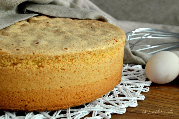 Simil pan di Spagna - base per torte farcite - video ricetta