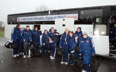 """""""France- Pays de #Galles : les #rugbywomen sont arrivées"""" - L'union - 06/02/2013"""