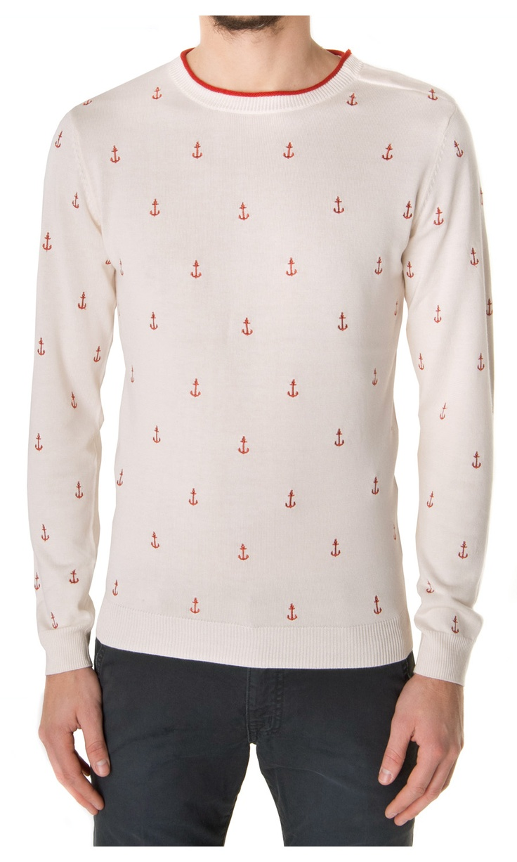 Eleven Paris Danker Anchor Sweater - #Menswear  www.sansovinomoda.it