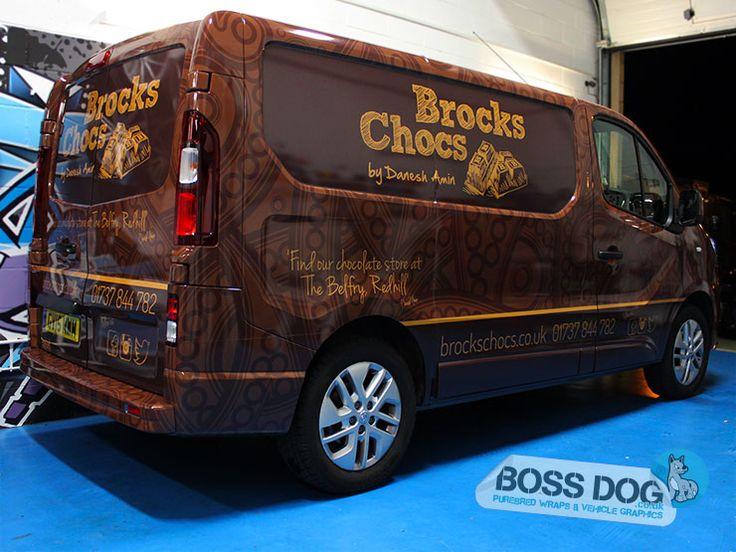 Boss Dog Vehicle graphics, Van signwriting, Van graphics, Car wrapping, Van wrap, vinyl wraps. Surrey, Hampshire, Berkshire, London