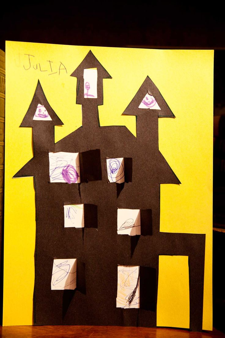 Easy Halloween Drawings For Kids Halloween craft ideas,