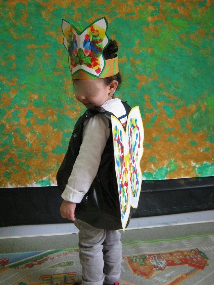 Pour changer un peu des sacs à album, voici les photos de la fabrication du costume de Carnaval cette année... L'école étant sur un projet Jardin jusqu'à la fin de l'année, avec les collègues, nous avons décidé de faire le Carnaval sur ce thème. Après...
