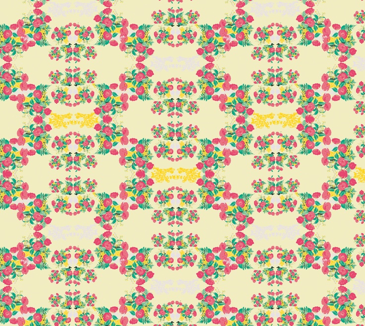 Roses Pattern, by Maria Faci