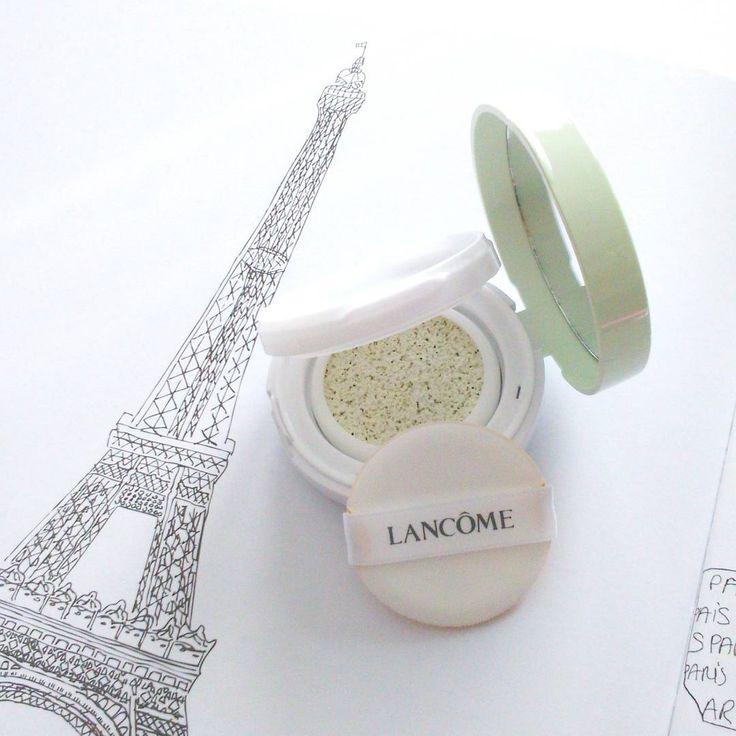 Lancome CC cushion green corrector | color correcting | korean cushions | skincare & makeup - casalorena.com