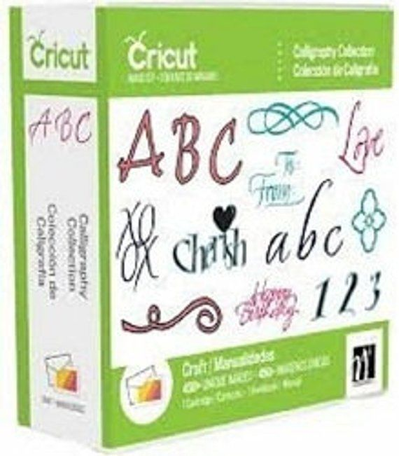 Download NEW Cricut Cartridge, Calligraphy Collection | Free fonts ...