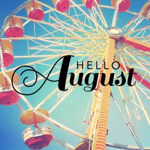 Привет, Август!☺️