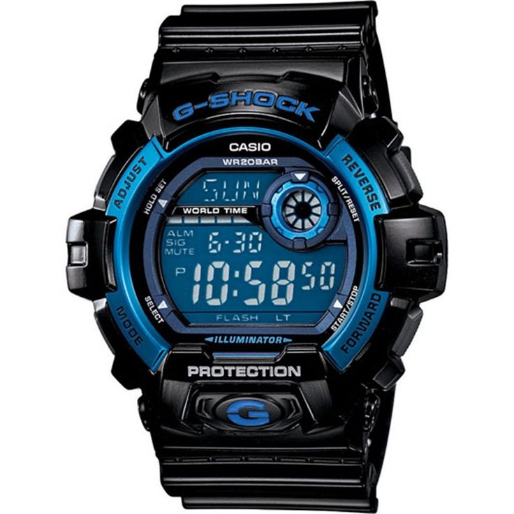 Item specifics     Condition:        New with tags: A brand-new, unused, unopened, undamaged item in its original packaging (where packaging is    ... - #Watches https://lastreviews.net/fashion/mens/watches/crazy-week-deal-new-casio-g-shock-g8900a-1-black-with-blue-dial-mens-watch/