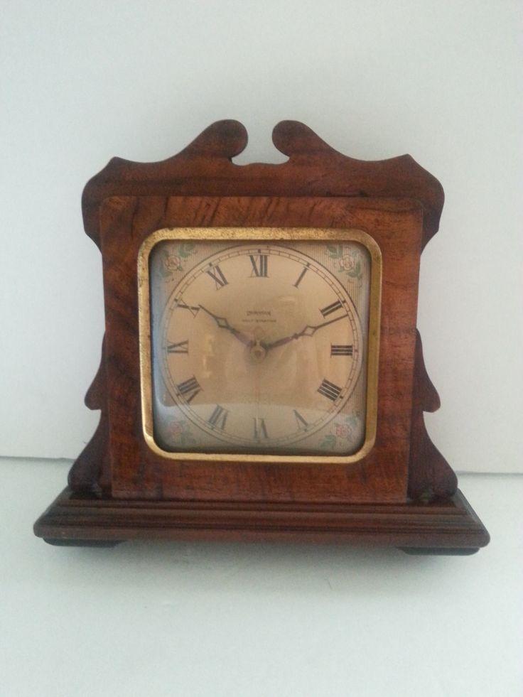 Vintage Ingraham Self Starting Clock **  Art Deco Antique Mantle Clock ** 1930's Library Vintage Home Decor by MartiniMermaid on Etsy
