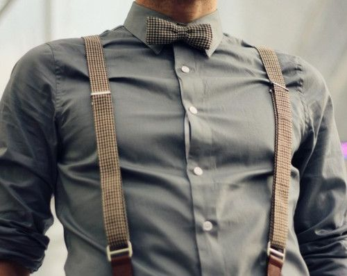 Need this... Once I wear this I will feel accomplished: Bows Ties, Color, Braces, Dresses, Men Fashion, Bowties, Gentleman Style, Suspenders, Girls Style
